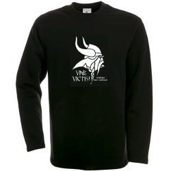 t-shirt Noir Gaulois avec devise de Brennus. Vae victis.