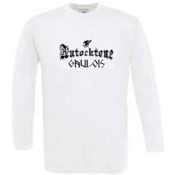 t-shirt manches longues autochtone gaulois. mention gaulois