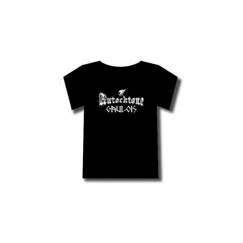 t-shirt manches courtes gaulois identitaire et fier de l'être