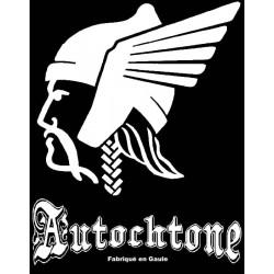 Détail du motif t-shirt de la marque Autochtone fabrique en gaule Grand Modèle