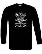 motifs Gaulois sur tee-shirts manches longues 100% coton